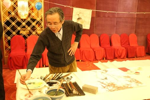 中国书法家协会理事、北京书法家协会副主席、评审委员会主任谷溪先生