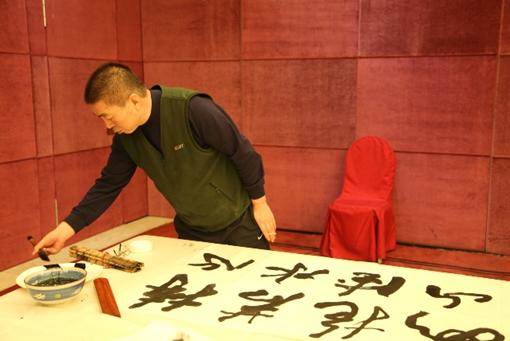 中国书法家协会理事、中国书协培训中心教授刘普选先生
