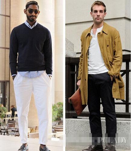 型男教你如何穿好简洁单品 演绎低调的华丽