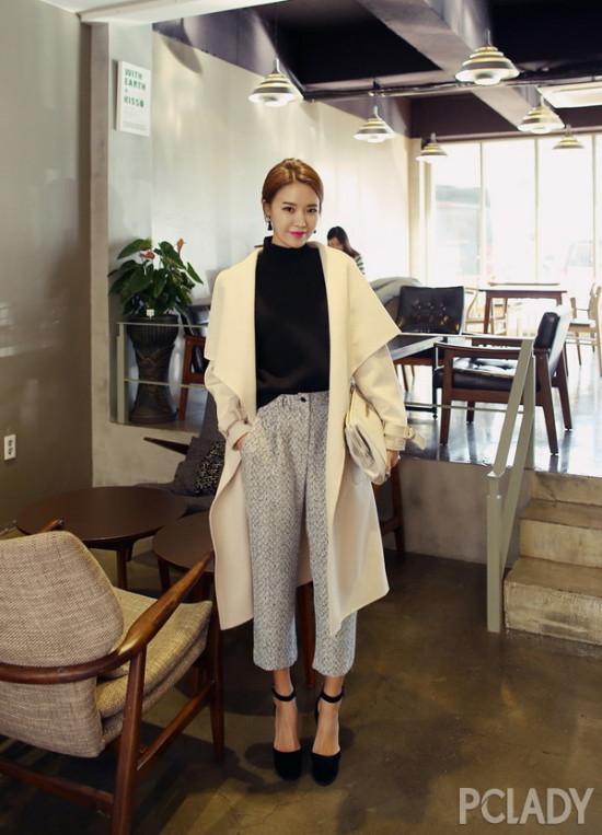 大衣;外套;搭配;冬季搭配