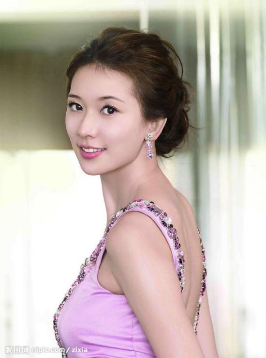 明星囹�a�n�_盘点十大美女明星的情书趣事之林志玲