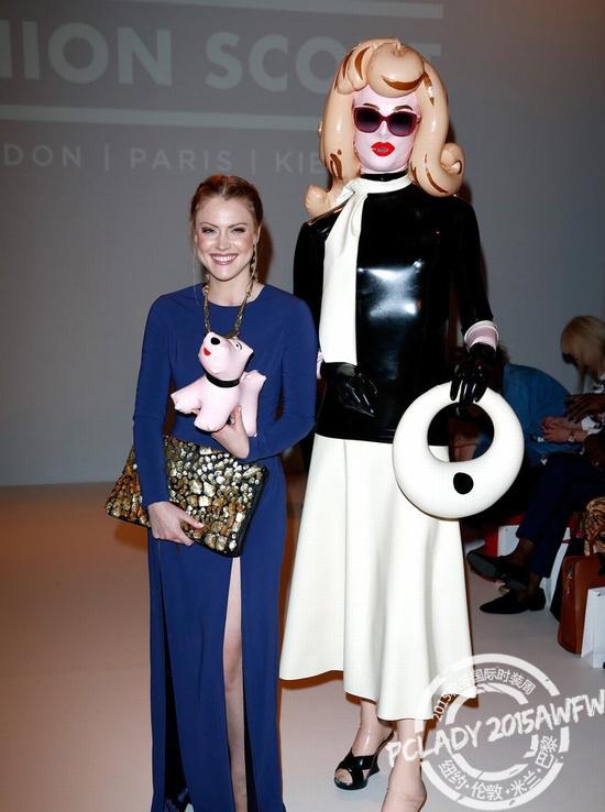 橡胶小姐;伦敦时装周;时装周;Sorapol