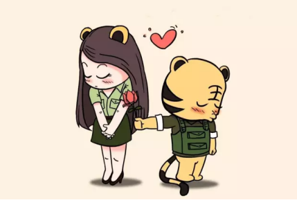虎妞则为了配合虎哥衍生的,虎哥的幽默风趣搭配虎妞的呆萌可爱,如此