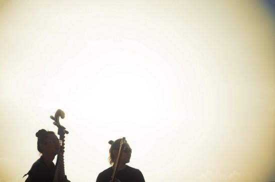 提琴、大提琴、二胡、琵琶以及世界各地的古怪乐器,将其做非正常用