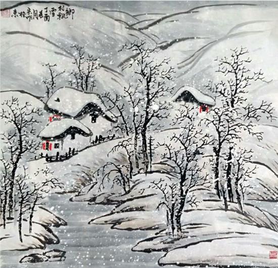 山野寻幽—李宗明2017年春季山水水墨作品展在北京举办