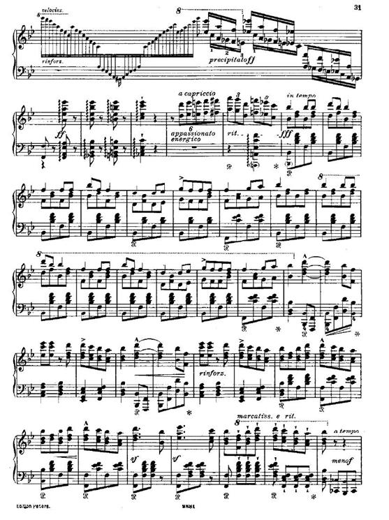 唐璜香槟钢琴曲谱
