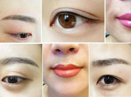 徐志杰优秀作品       徐志杰老师谈眉形设计的15个步骤   1, 清洁