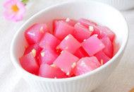 纯天然彩色凉粉