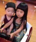 曹格女儿与韩国小正太