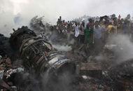 尼日利亚载153人客机坠毁
