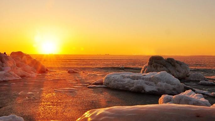 北戴河朝阳的冰火浓情
