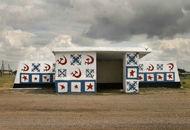 苏联时期的巴士站