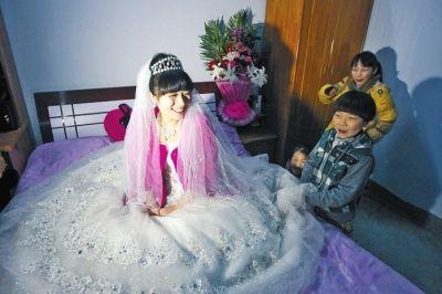 患癌女孩生命倒计时 男友坚持与其办婚礼