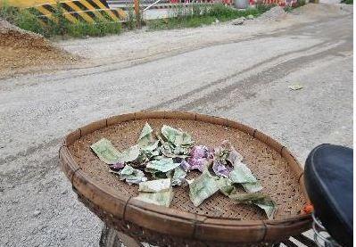 农民建山寨收费站