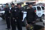 北京武装巡逻车巡逻 配长短枪和警犬