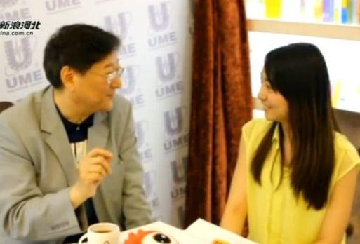 香港电影教父吴思远做客新浪河北